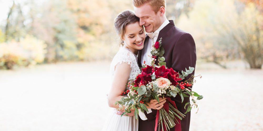 Kuschelige Winterhochzeit. Auch diese Hochzeit wurde von Lisa von Time for Wedding Hochzeitsplanung organisiert.