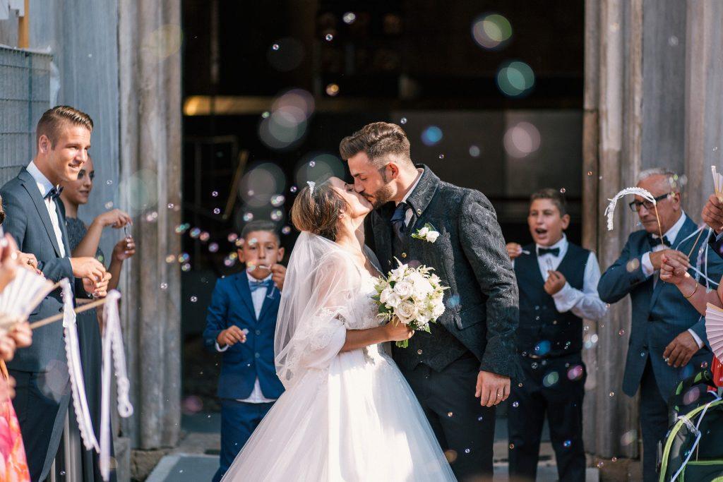 Ein weiteres glückliches Brautpaar! Hier hat hat Team rund um Wedding Planner Lisa wieder ganze Arbeit geleistet!