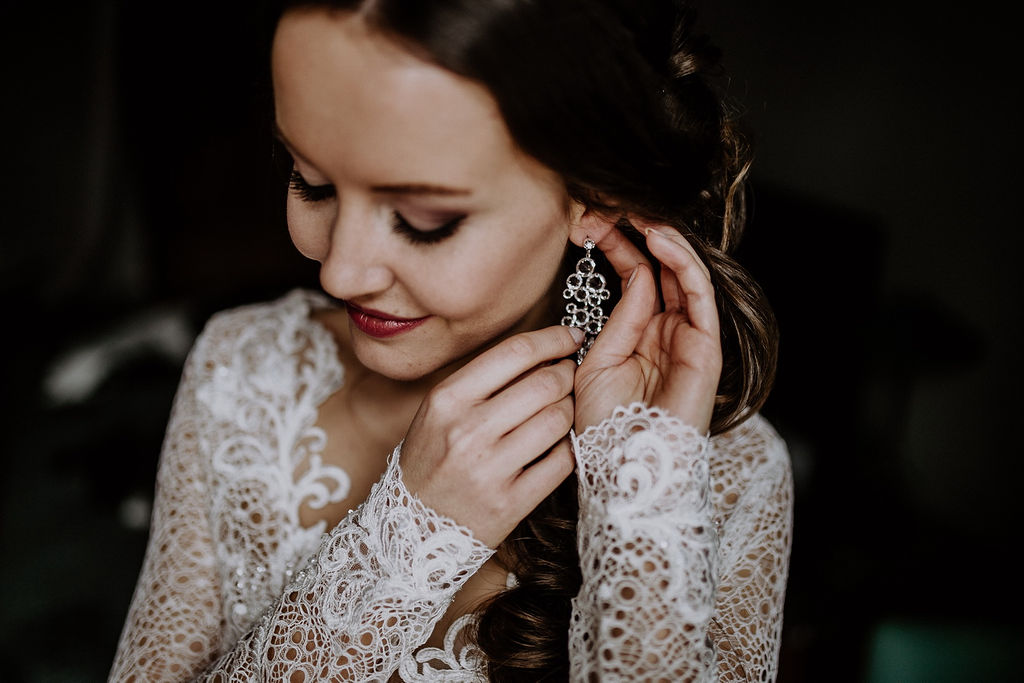 Für unsere Winterhochzeit durfte natürlich auch nicht der passende Schmuck fehlen! Ausgesucht von Hochzeitsplanerin Lisa von Time for Wedding Hochzeitsplanung Berlin.