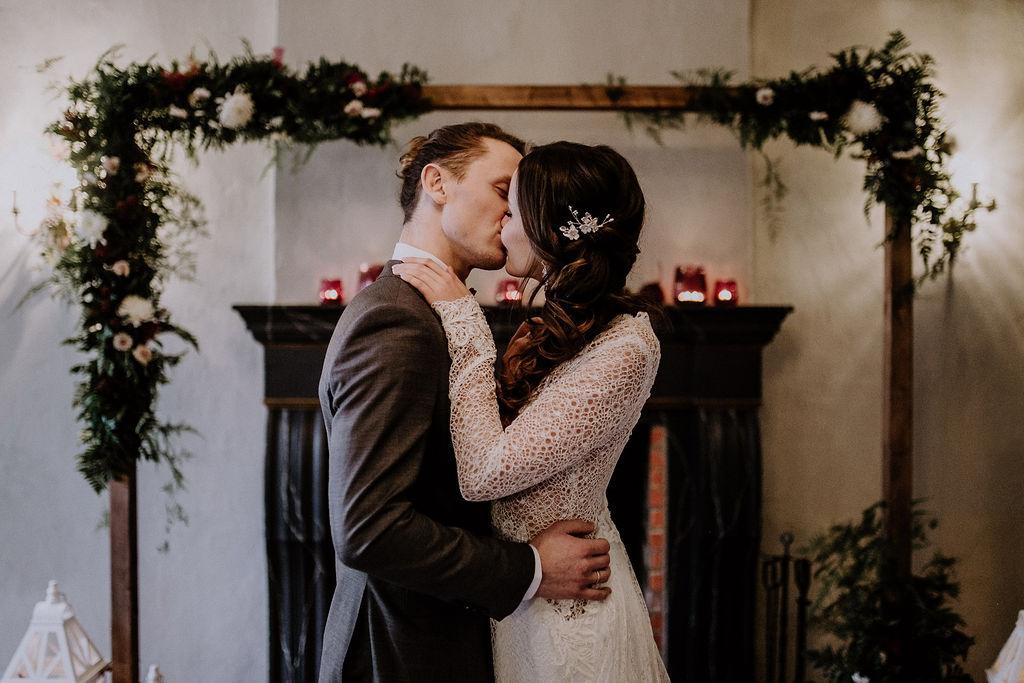 Eine traumhafte Winterhochzeit organsiert von Hochzeitsplanerin Lisa Müller aus Berlin!