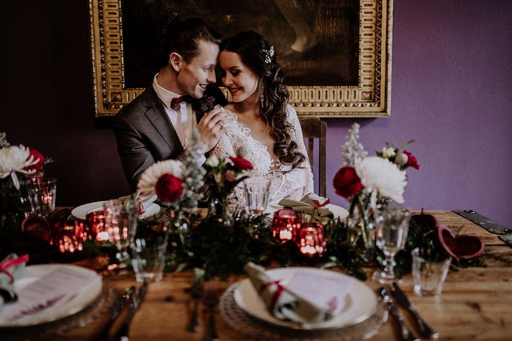 Ein Traum von Winterhochzeit! Das Styled Shoot mit tollen Inspirationen von der Hochzeitsplanerin Lisa Müller aus Berlin!