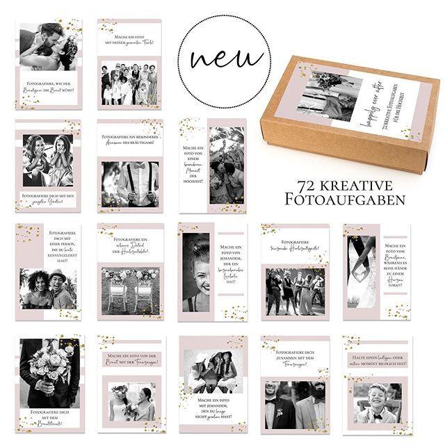 Tolle Fotoaufgaben für eure Gäste! Eine kreative und moderne Idee für die Gästebeschäftigung!